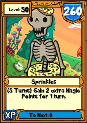 Sprinkles Hero Card