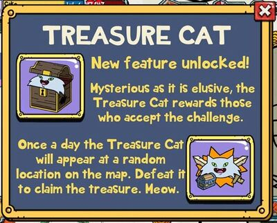 Treasure Cat