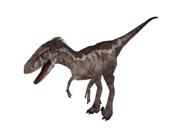 File:Carnivores Dinosaur Hunter Utahraptor model.jpg