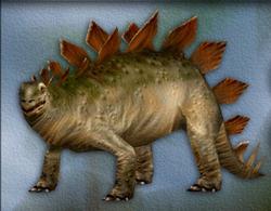 Carnivores Stegosaurus