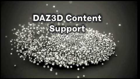 DAZ3D Carrara 8 Promo Reel 2010