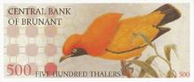 500 thalers 1959