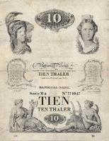 10 thalers 1870