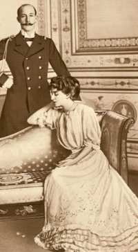 Maria Benedita and Johan, 1918