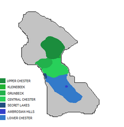 Chester Valley regions
