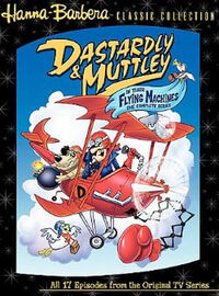 Dastardly and Muttley DVD