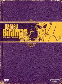 Harvey Birdman DVD