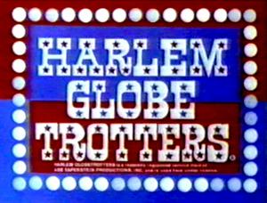 Harlem Globetrotters Title Card