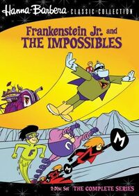Frankenstein Jr. and The Impossibles DVD
