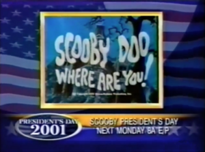 Scooby Presidents Day