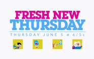Fresh New Thursday Logo