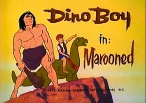 Dino Boy title