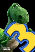Toy Story 3 Poster 5 - Rex