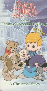 Precious Moments- Timmy's Special Delivery
