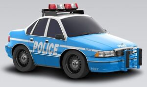 Chevrolet Caprice Classic Patrol Car 1994