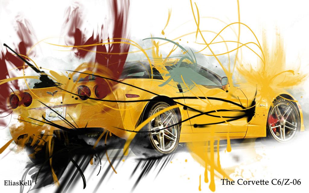 Corvette C6 Z06 Wallpaper by EliasKell-1-