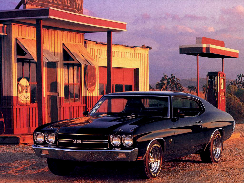 Chevy Chevelle SS wallpaper-1-