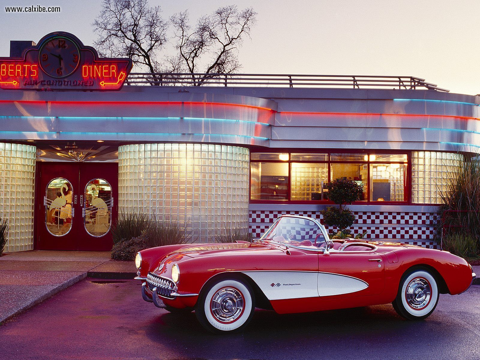 1957 Chevrolet Corvette Convertible-1-