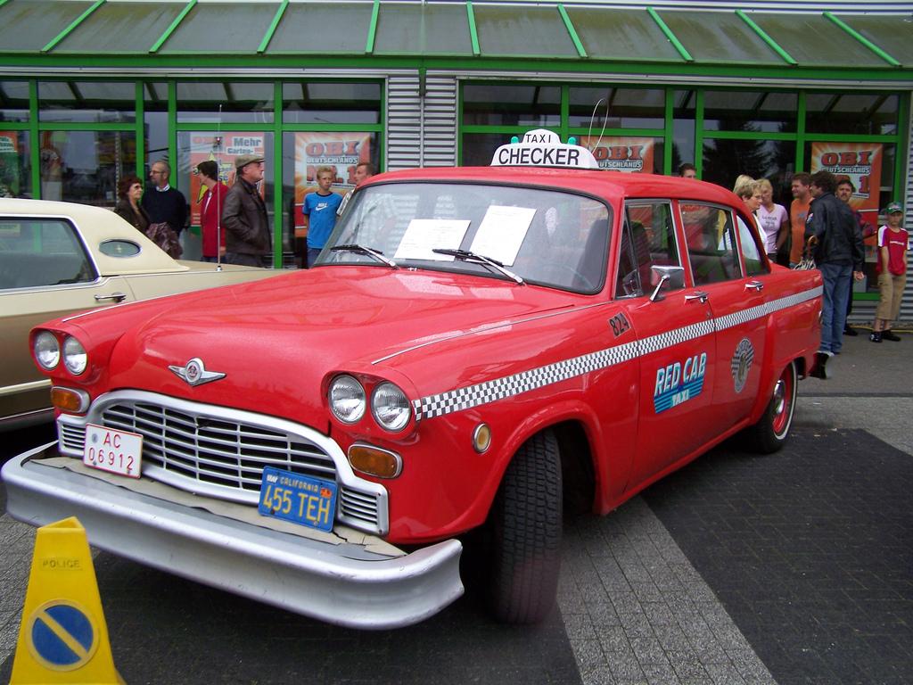 Checker Taxi 1-1-