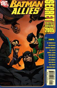 Batman Allies Secret Files and Origins
