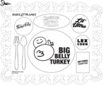 Daily Planet placemat