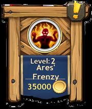 Ares frenzy level2