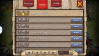 Arena rankings