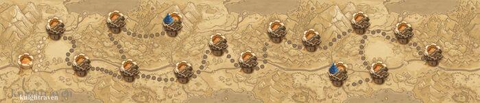 Dungeon 1 trailmap