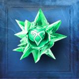 Alchemy green crystal