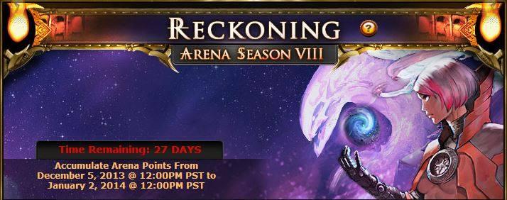 Reckoning arena ad