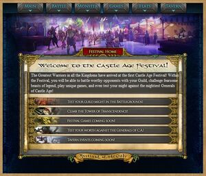 Ca - festival homepage