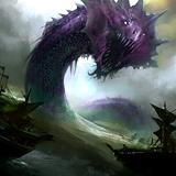 Alpha Amethyst Sea Serpent