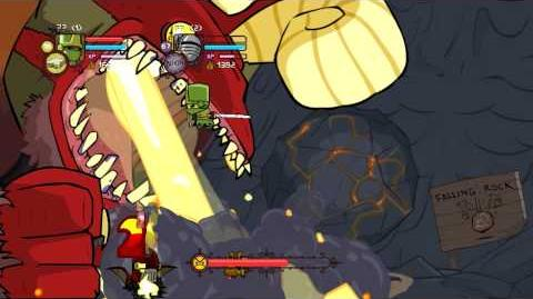 Castle Crashers Lava World Invincibility Glitch