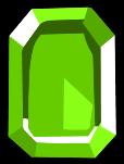 Square Green Gem