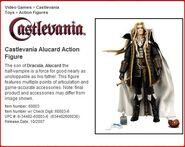 Alucard Action Figure Profile