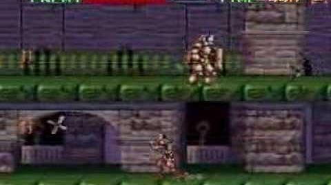 Super Castlevania IV Stage 6