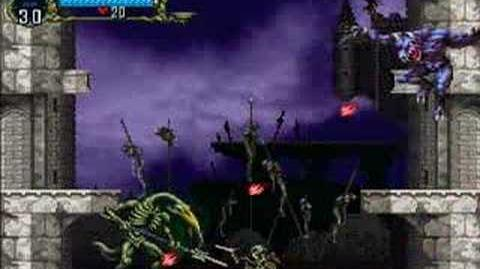 Symphony of the Night - Gaibon and Slogra (alternative encounter, Luck Mode)