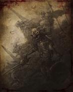 Bloody Skeleton Book of Dracul