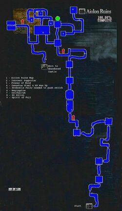 Aiolon Ruins Map