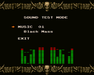 X68000 Sound Test Mode
