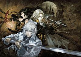 Castlevania Harmony of Despair Main Art