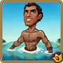 Rafael half naked