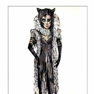 Nicole Scherzinger's Grizabella design