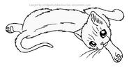 Stretch lineart by wildpathofshadowclan-d2xumgs