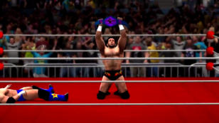 James Dark after winning the PFW Galactus Title