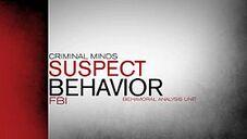 Criminal minds suspect behavior