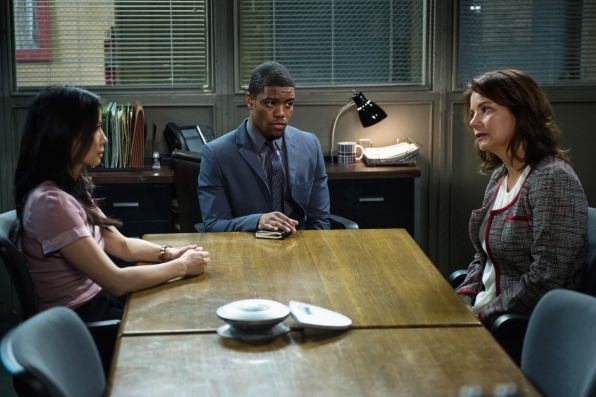 File:004 Blood Is Thicker episode still of Joan Watson, Marcus Bell and Natalie Gale.jpg