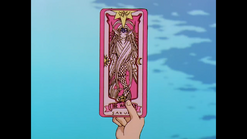 Watery sakura card