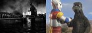 Accurate Comparison of the Showa Godzillas
