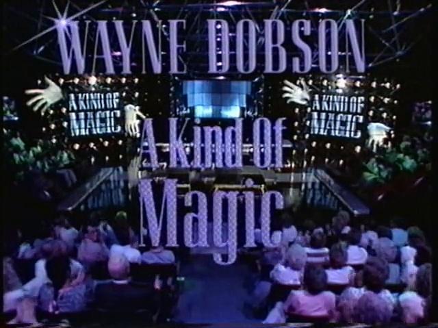 Wayne Dobson - A Kind Of Magic S01E05 1990 - Alex Higgins Linda Lusardi Richard Coombs